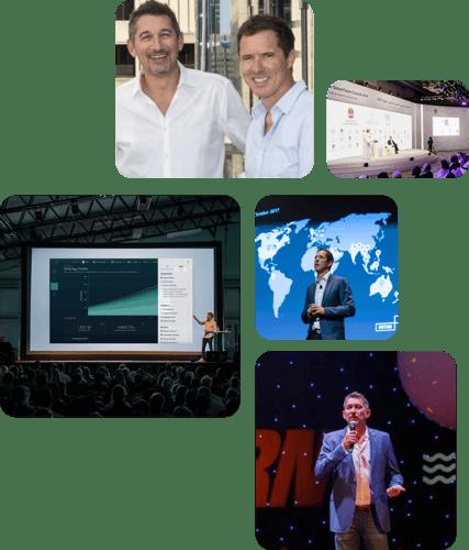 Faethm AI co-founders